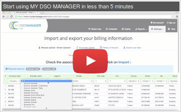 vidéo My DSO Manager
